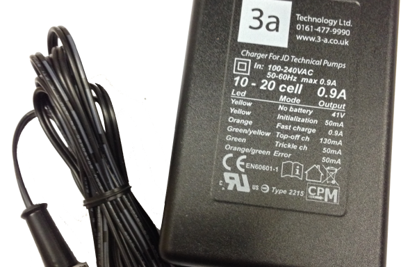 0.9 Amp 5-Pin Charger (Older JD8/16T)